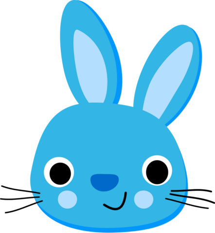 File:Monochromatic Bunny.png