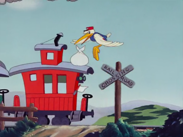 File:First Railroad Crossing on Dumbo Cartoon Movie.png
