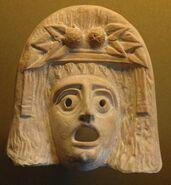 Dionysos mask Louvre Myr347