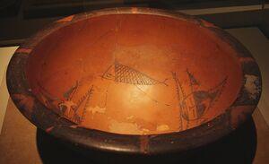 CMOC Treasures of Ancient China exhibit - painted basin (1).jpg