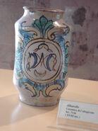 1282 - Catania - Castello Ursino - Ceramica di Caltagirone, sec. XVIII - Foto Giovanni Dall'Orto, 2-Oct-2007