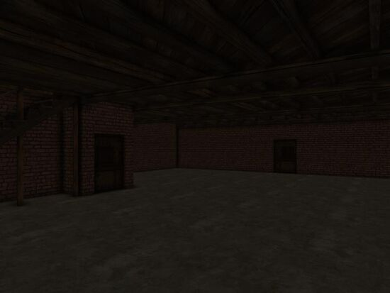 Basement - Walls - Mom's - Red Brick
