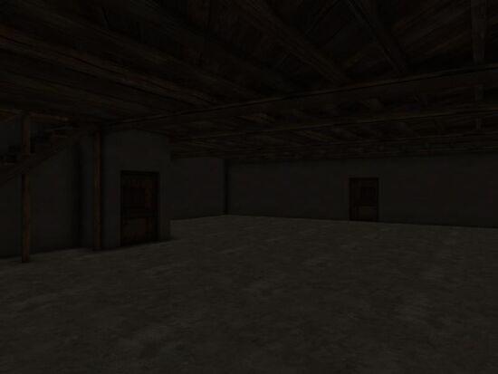 Basement - Walls - Mom's - Moldy Drywall