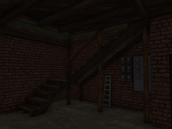 Basement - Under the Stairs - Nothing