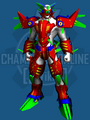 Sakura Mecha Armor Set