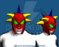 Vigilante Skewerhelm (Head Wear)
