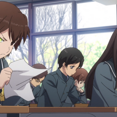 Yū possessing another student