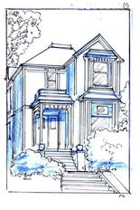 CharmedComic Manor Sketch