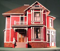 Halliwell Manor Dollhouse