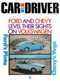 Car & Driver - September 1970