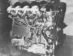 Chevy-Cosworth Racing Engine - R&T Oct 1972