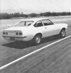 Vega Coupe - Car and Driver. Sept 1970