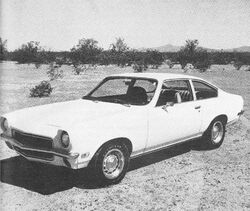 1971 Vega Coupe C&D Sept. '70