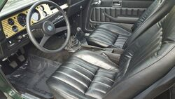'76 Cosworth Vega interior - Hemmings Daily Feb. 17, 2016