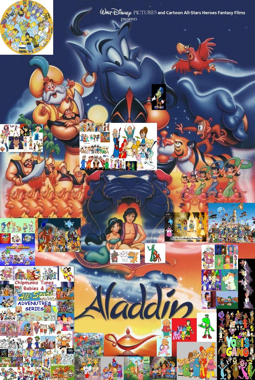 chipmunks tunes babies amp allstars adventures of aladdin