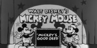 Mickey's Good Deed
