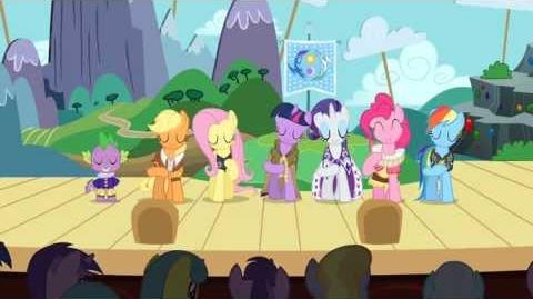 MLP FiM Music The Heart Carol (A Circle of Friends) HD