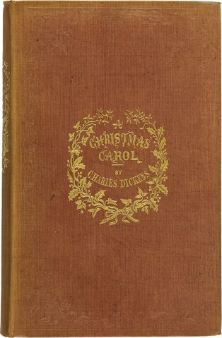 File:A Christmas Carol first edition book.jpg