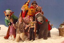 Christmas at Pooh Corner