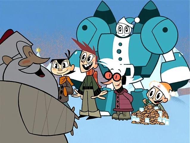 File:Santa with the MLAATR characters.jpg