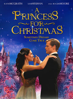 A princess for christmas poster