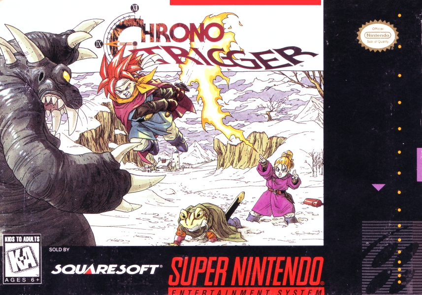 Image result for Chrono Trigger box Art