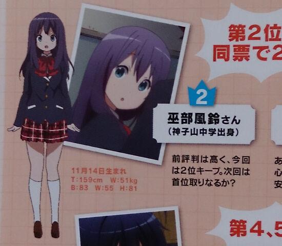 File:Chuunibyou Demo Koi ga Shitai! Kazari Kannagi.jpg
