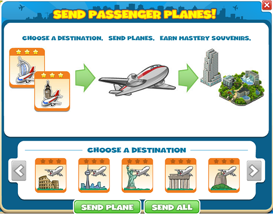 PassengerPlaneMenu