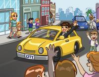 Announce cars