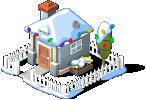 Cozy Cottage snow