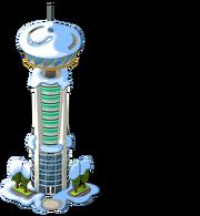 Tower Eats snow