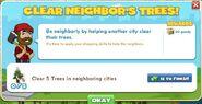 Clear Neighbor's Trees! 1