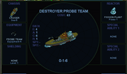 Destroyer probe team (SMAC)