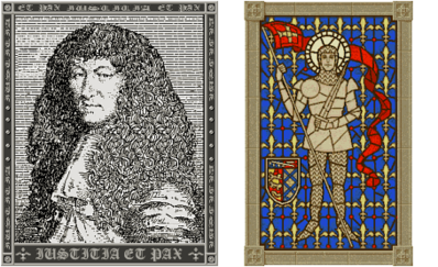 Louis XIV and Joan of Arc (Civ2)