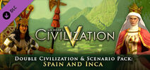 Double Civilization and Scenario Pack Spain and Inca DLC (Civ5)