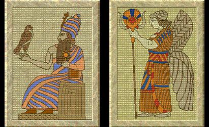 Hammurabi and Ishtar (Civ2)