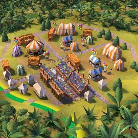 Street Carnival in game