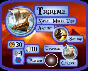 Trireme Info Card