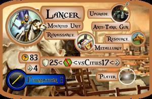 Lancer Info Card (Civ5)