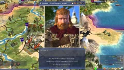 Civilization 4 Warlords Official Gameplay Trailer (2006, Firaxis)