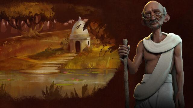 File:Civ6 splash Gandhi.jpg