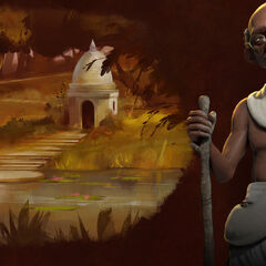 Promotional image of Gandhi