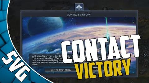 Civilization Beyond Earth - Contact Victory