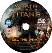 Wrath of the Titans (DVD) disc