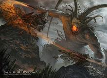 Surtur fire demon lord