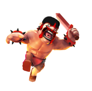 What is some information on barbarians found on the Clash of Clans Wiki?