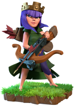 Archer Queen  Clash of Clans Wiki  Fandom powered by Wikia