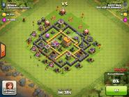 Lvl 6 good town hall base