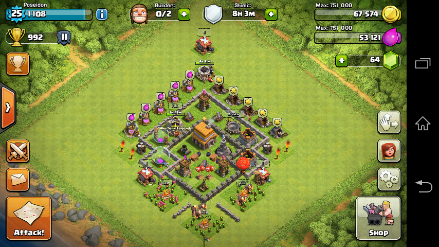 Image - Town Hall 5 (Best Defence Layout).png | Clash of