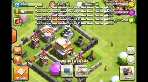 2-2 Part 2 3 Let's Play Clash of Clans - Base Design (TH5) Spiral Base (Gameplay Commentary)-0